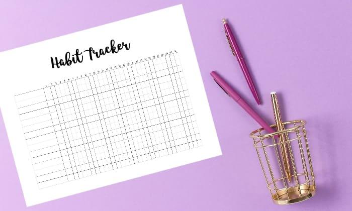 Habit Tracker Excel Template - Ultimate Printables
